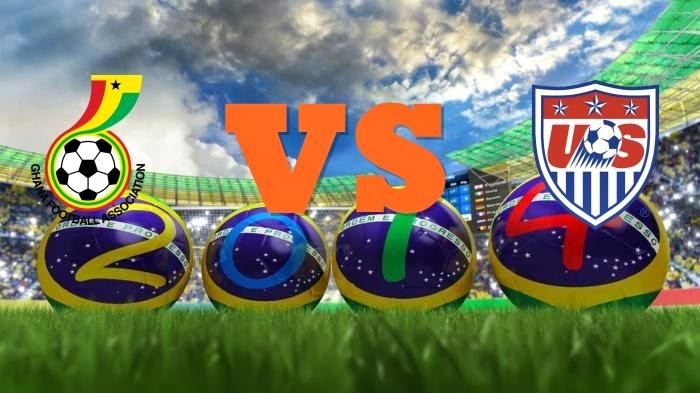 Prediksi Skor Piala Dunia Terjitu Ghana vs Amerika USA jadwal 17 Juni 2014