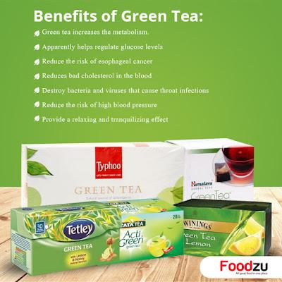 Benefits of Green Tea - Foodzu.com