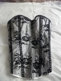 Spicy Silver Corsets
