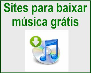 Sites para baixar música grátis