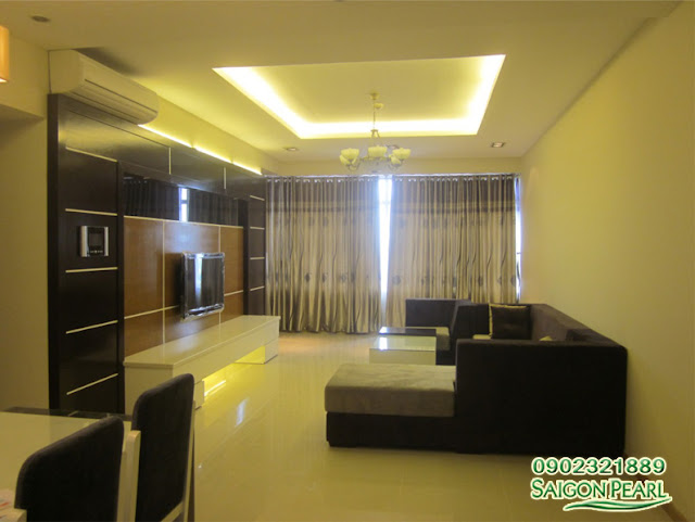 Căn hộ nội thất mơi 100% cần cho thuê tại Saigon Pearl