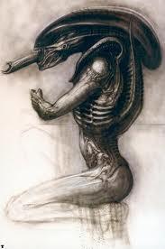 ilustraciones alien