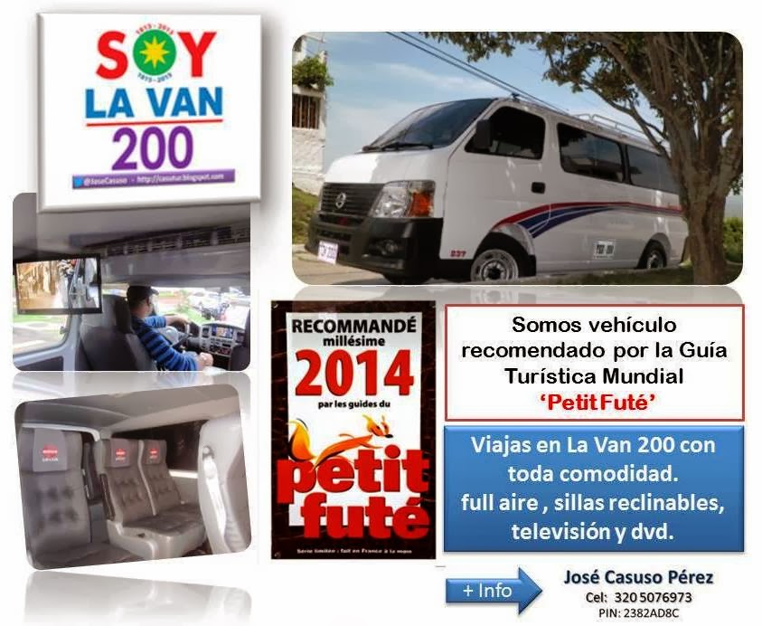La Van 200, recomendada por Petit Futé