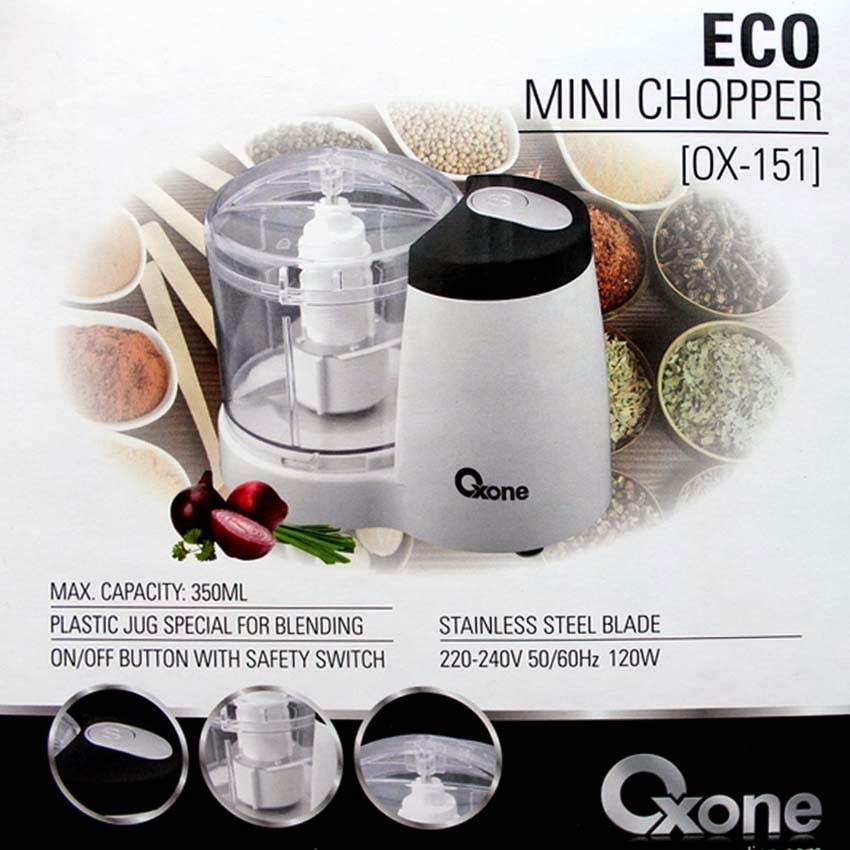 OX-151 Eco Mini Chopper Oxone 350ml/120Watt