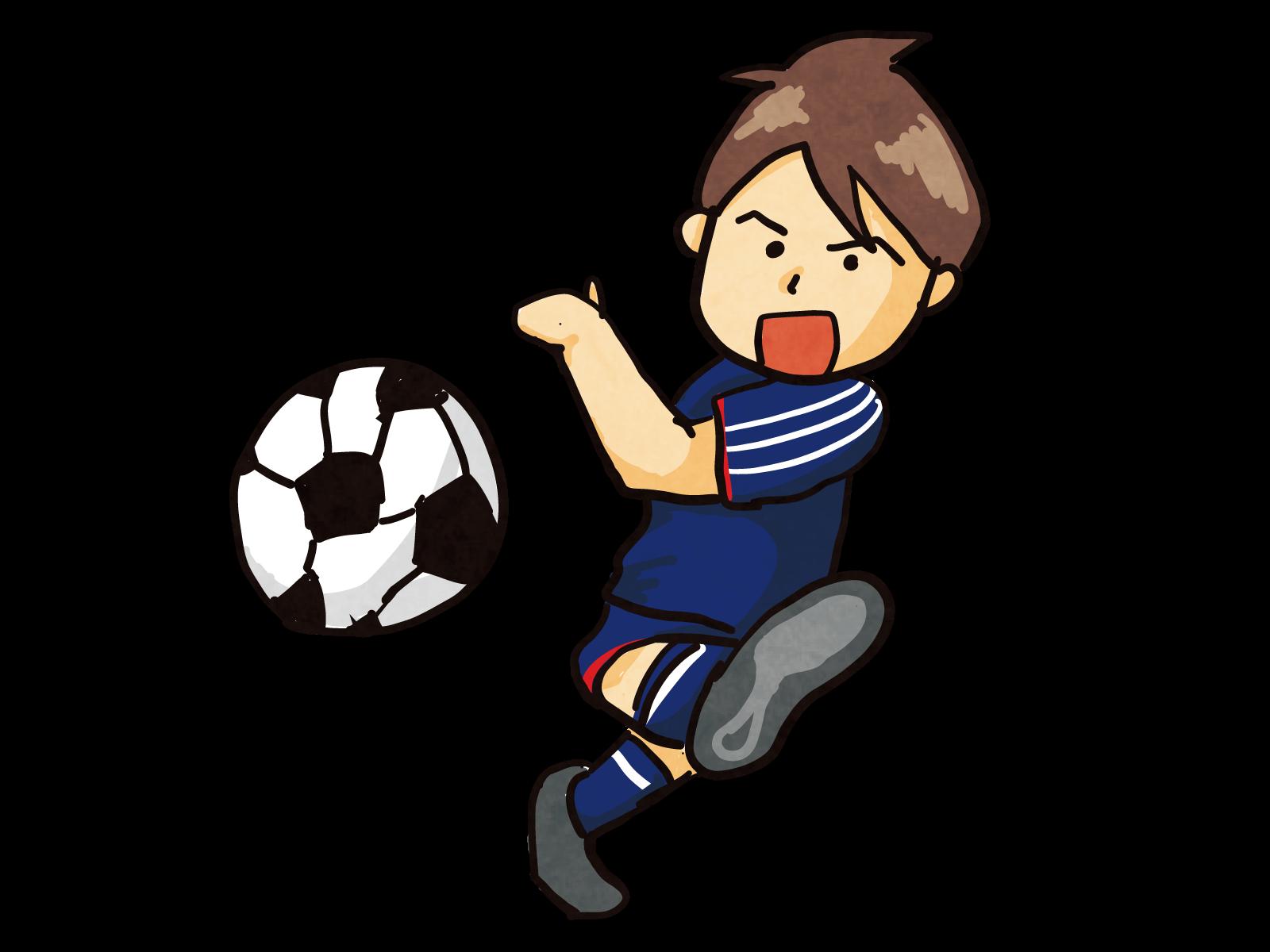 「サッカーイラスト」の画像検索結果