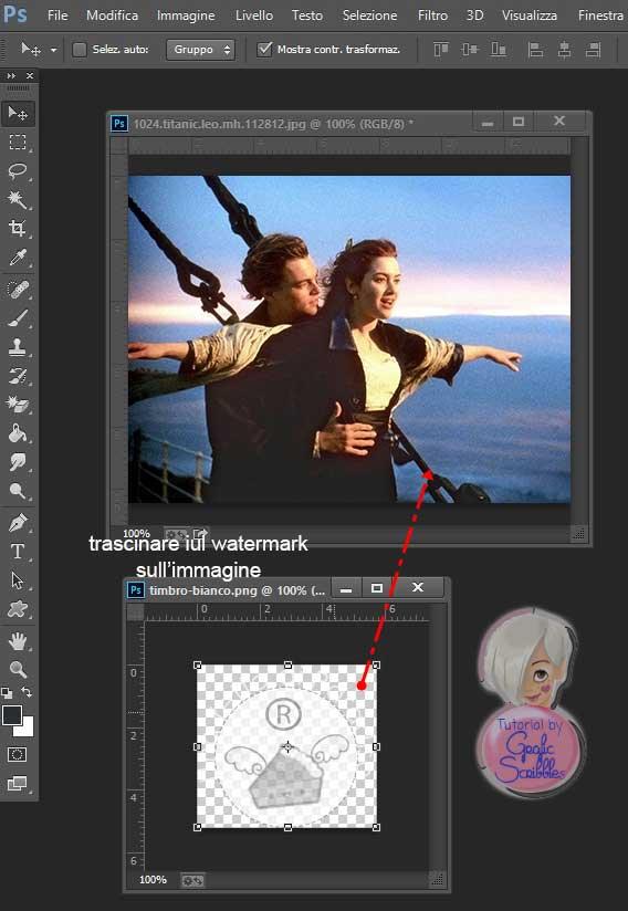 Tutorial Photoshop Sovrapporre Immagini