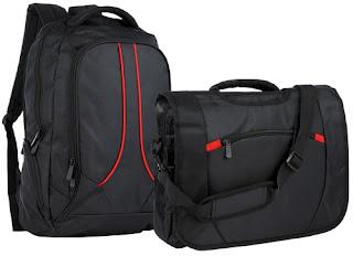 Plecak i torba na laptopa z Biedronki