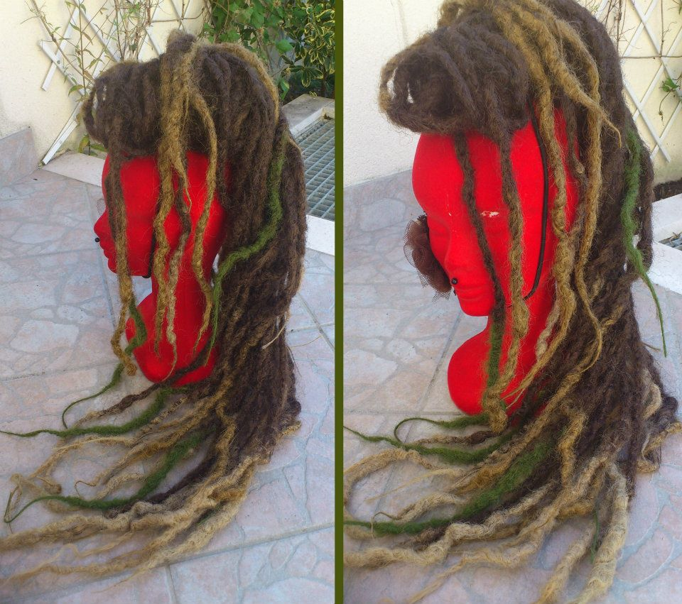 Crocheting Dreads : Style - Dreads SynthEtiques: Dreads synthEtiques au crochet / Dreads ...