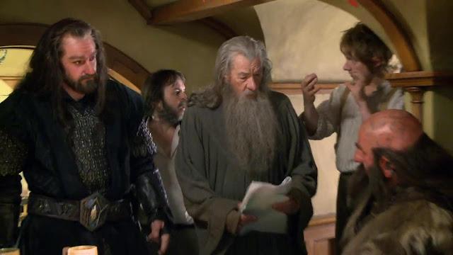 Gandalf - Bilbo Bagins