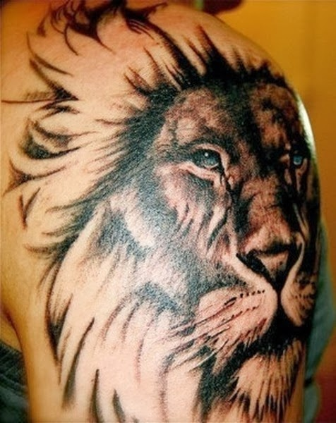 Best Animal Tattoos, Best Lion Tattoos (Gallery 2)