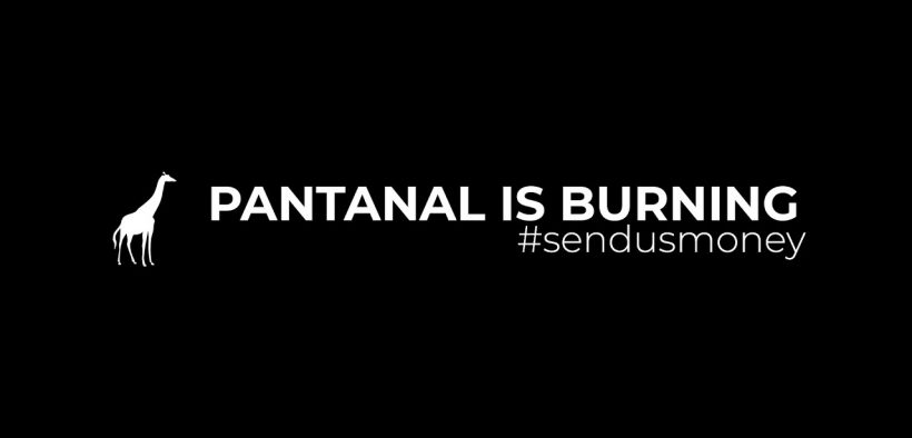 VIDEO: Pantanal is burning, send us money