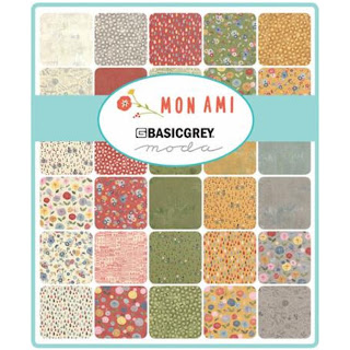 Moda Mon Ami Fabric by Basic Grey for Moda Fabrics