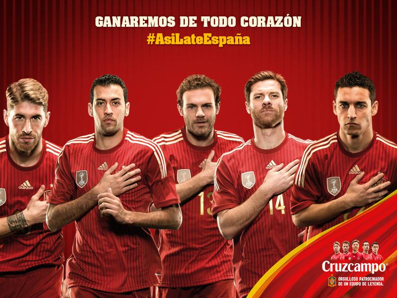 La Selección de España lista para Brasil 2014