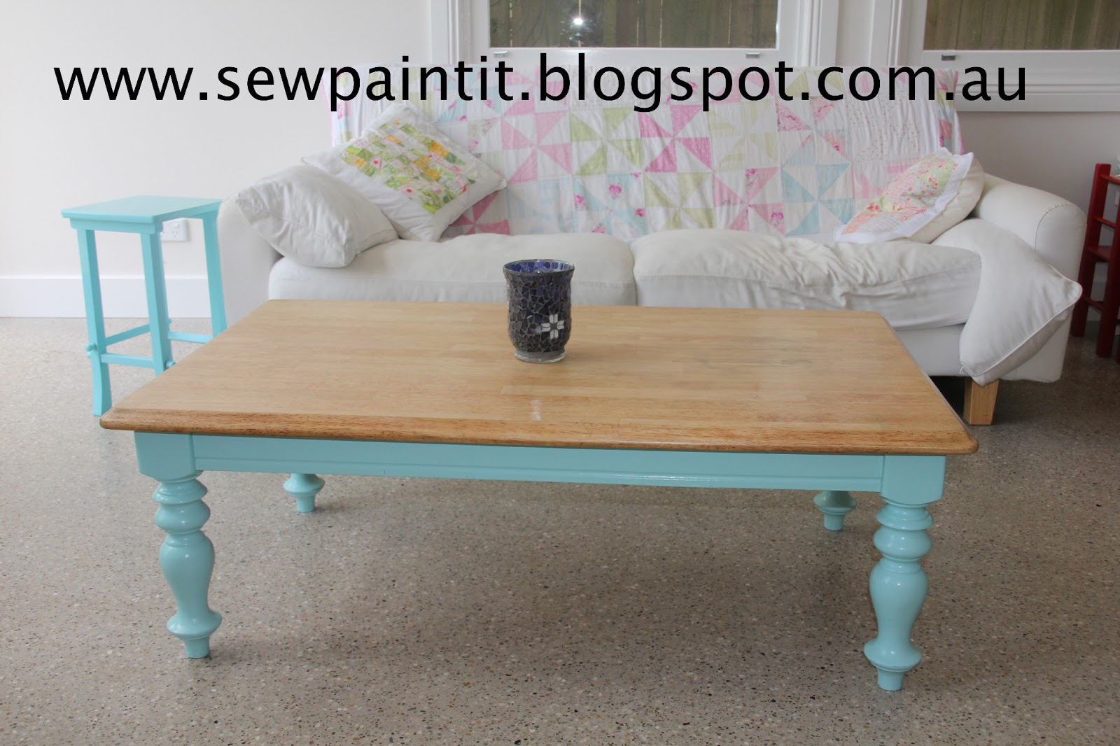 Sew paint it coffee table tea or me i am going to paint a big circle over the mark in the same colour as the legs then no one will know i just havent done it yet geotapseo Image collections