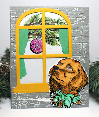 Stamps - North Coast Creations Santa Paws, ODBD Custom Window Die