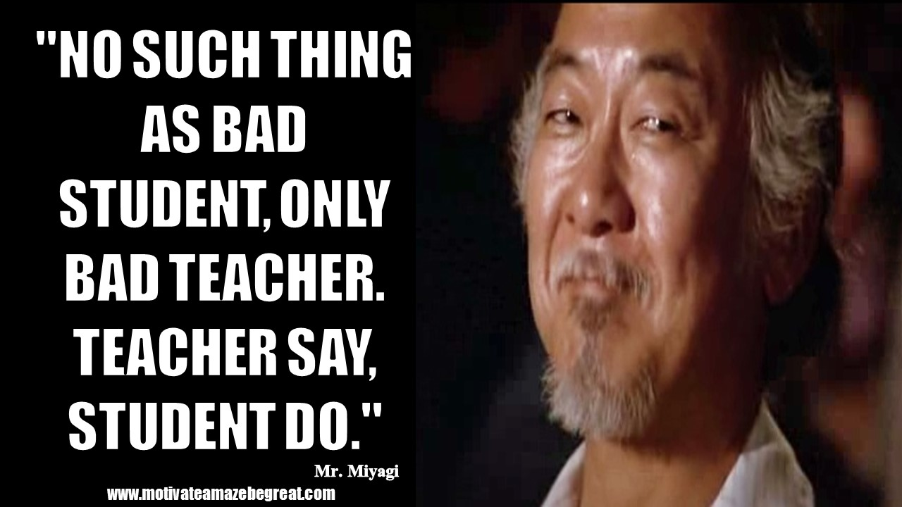 gallery for karate kid funny quotes