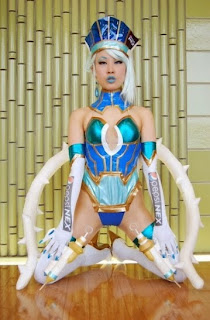 Tiger and Bunny Blue Rose cosplay by Nameko