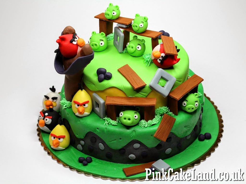 Best Angry Birds Cakes in London Childrens Birthday Cakes in London