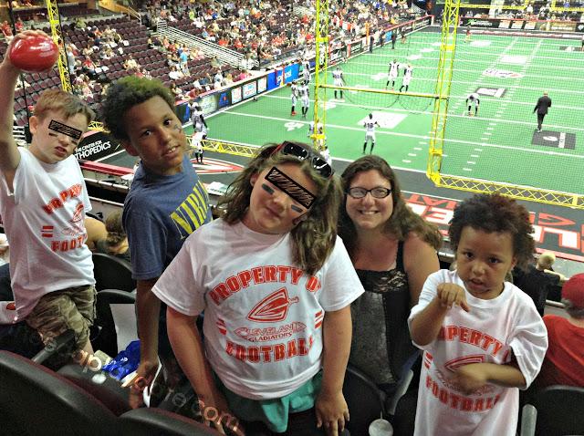 Cleveland Gladiators game at The Q Arena