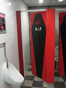 Toilets at the London Dungeon