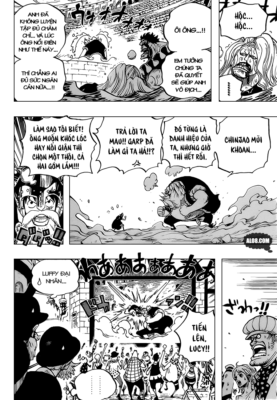 One Piece Chapter 717: Những người Dressrosa bị lãng quên 005