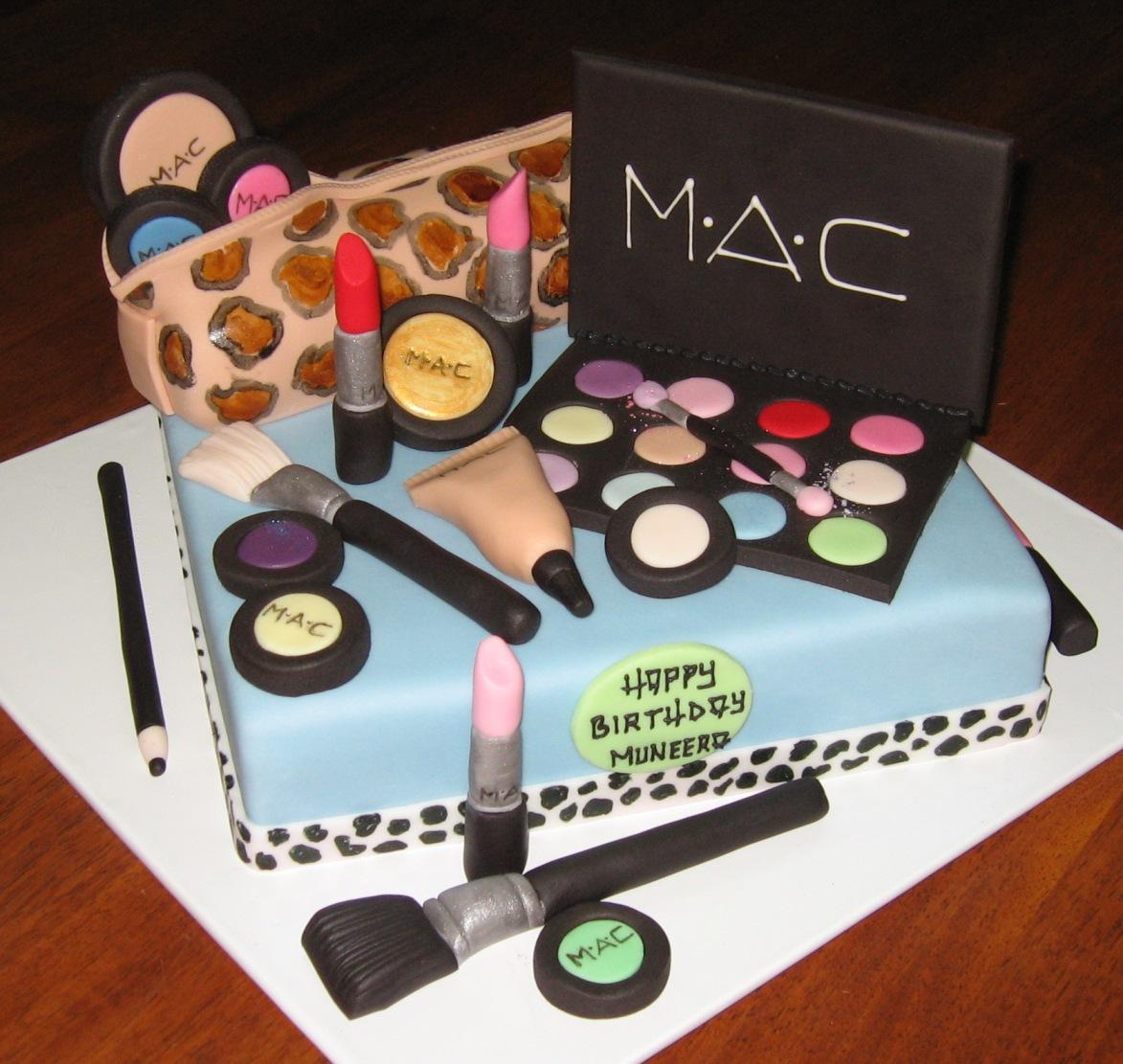 Makeup Cake Images : Let Them Eat Cake: MAC Makeup cake
