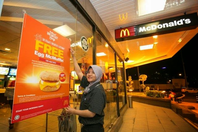 McDonald's Malaysia Third National Breakfast Day Campaign