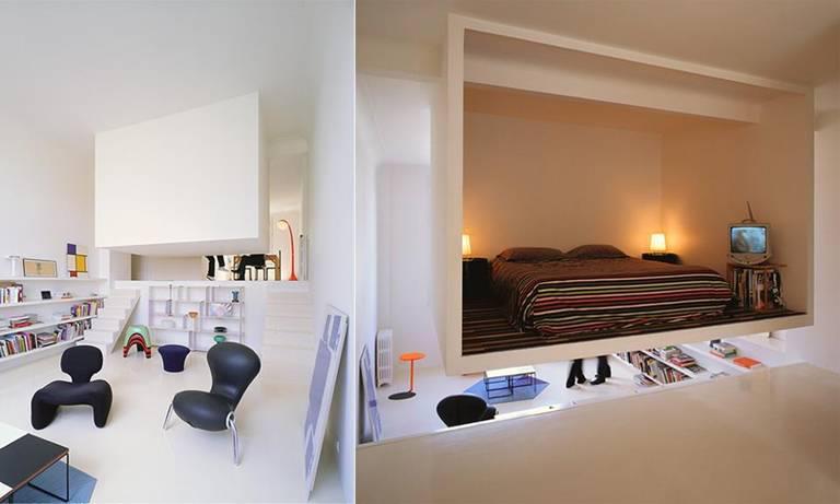 Beauti of nature - Creative loft bedroom ideas hold a certain fascination ...