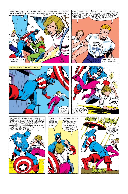 Captain America (1968) Issue #261 #176 - English 19