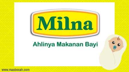 Milna, MPASI terbaik untuk si kecil