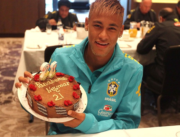 Neymar Birthday Cake In Brazil