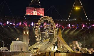 Незабываемая церемония закрытия Олимпийских Игр в Лондоне