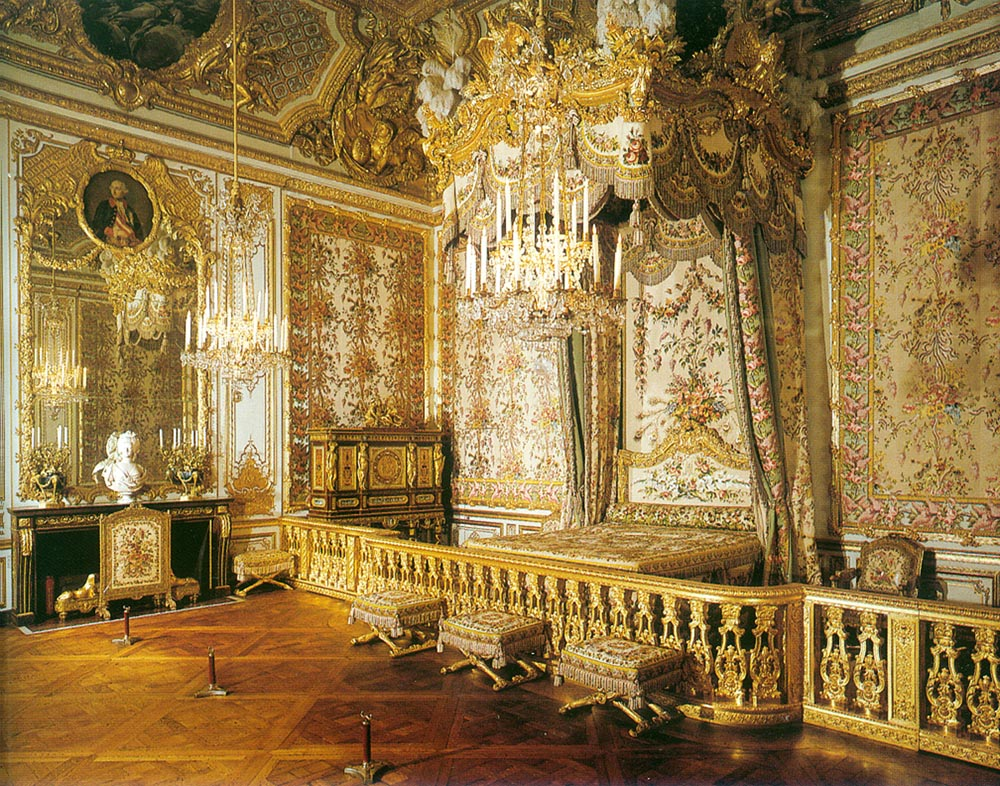 The fine art diner madame recamier the new queen of france for Architecture rococo