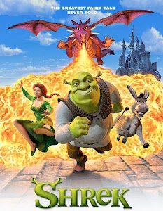Poster Of Shrek (2001) In Hindi English Dual Audio 300MB Compressed Small Size Pc Movie Free Download Only At World4ufree.Org