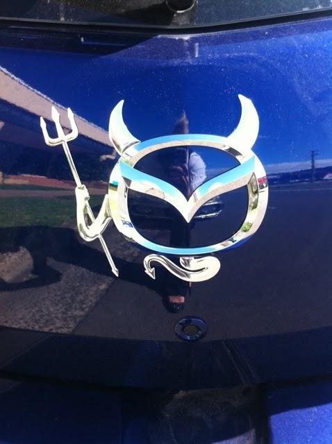 Mazda Logo Devil