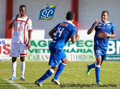 Maike também marcou seu primeiro gol no Camp. Mineiro de 2014.