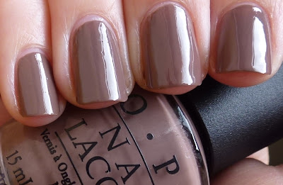 OPI - Over The Taupe, swatch