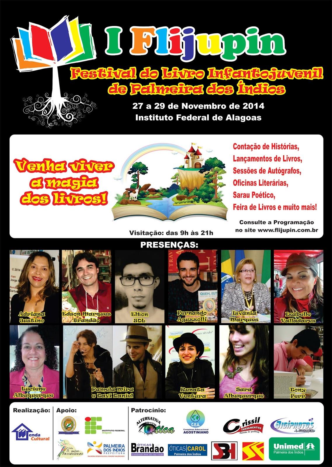 I Festival do Livro Infantojuvenil de Palmeira dos Índios