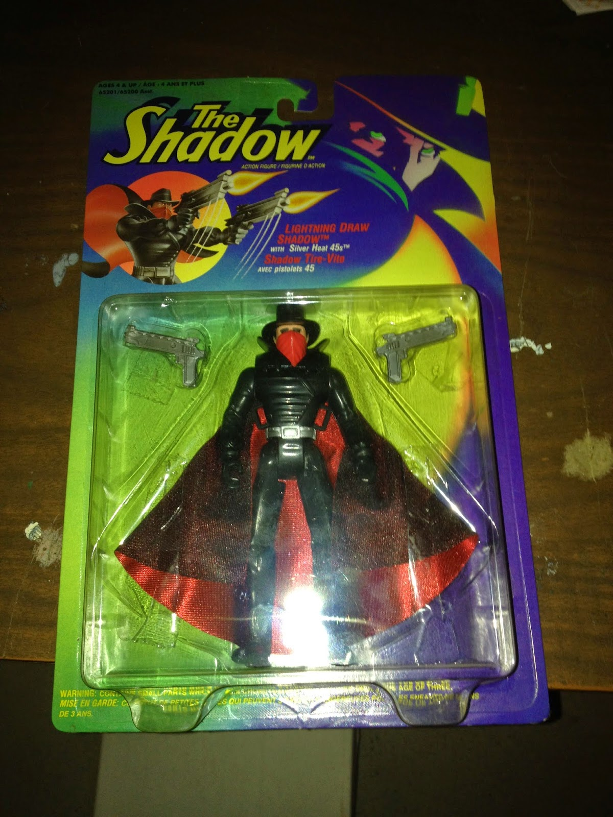 My mint-in-package Shadow action figure.
