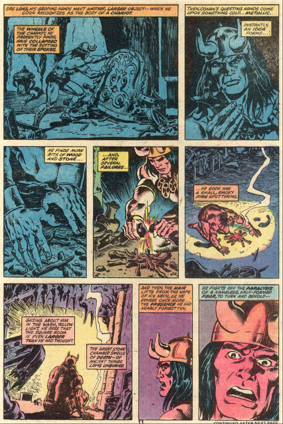 Conan the Barbarian (1970) Issue #92 #104 - English 9