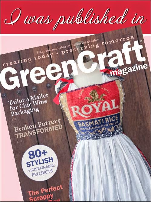 Look for my articles in this issue of GreenCraft Magazine