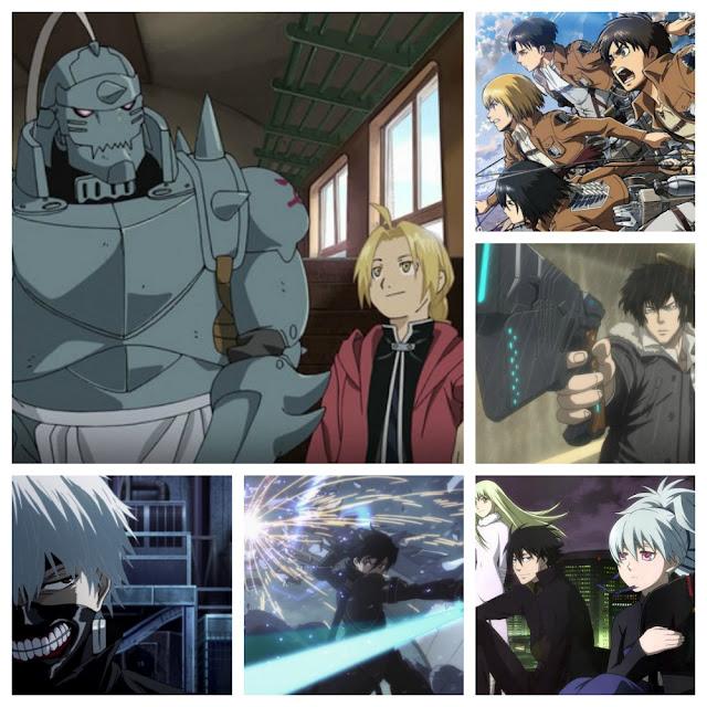Kolaż z anime