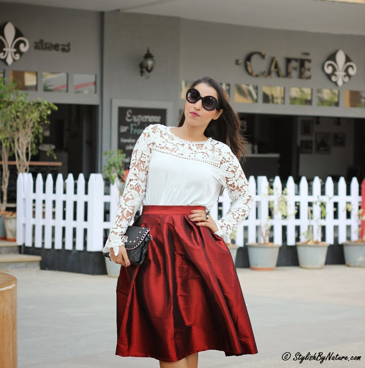 Fall Ladylike Full Skirt