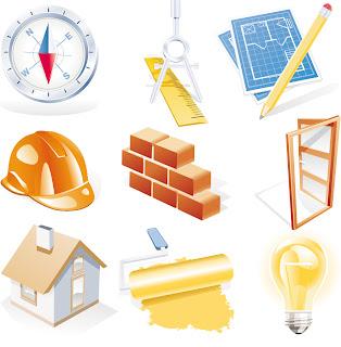 建築機材のアイコン construction site theme icon イラスト素材1