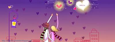 Couverture facebook pour couple amoureux