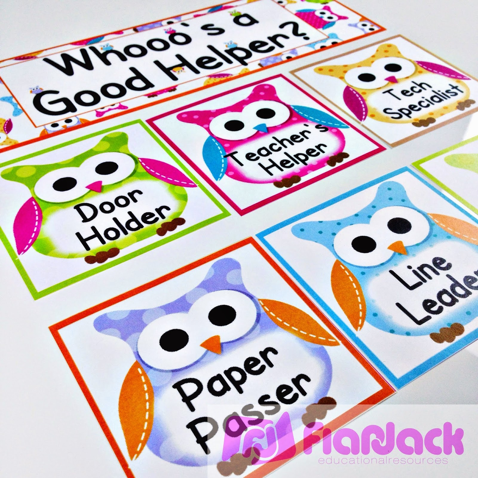 http://www.teacherspayteachers.com/Product/Owl-Themed-Classroom-Materials-Pack-255836