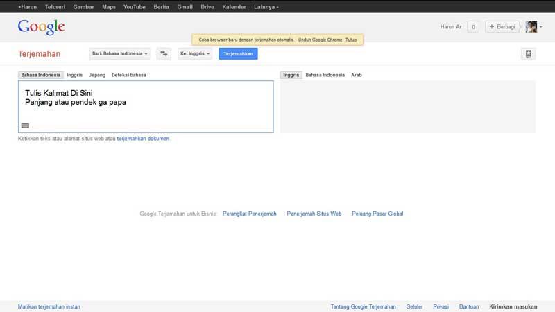 google oversæt til dansk