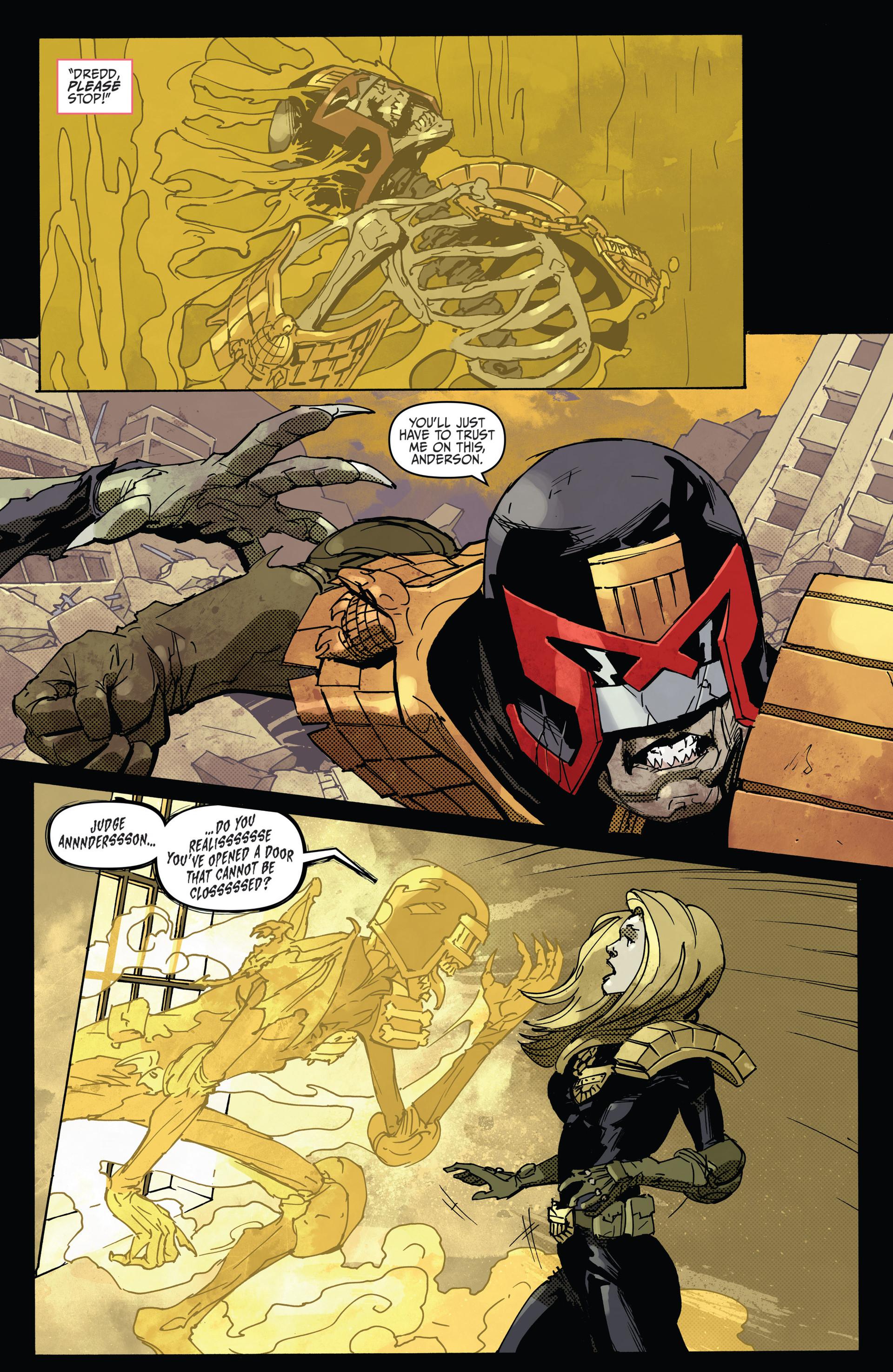 Read online Judge Dredd (2012) comic -  Issue #22 - 20