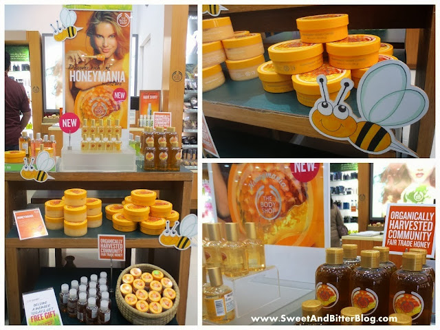 The Body Shop Honeymania Range Collection India