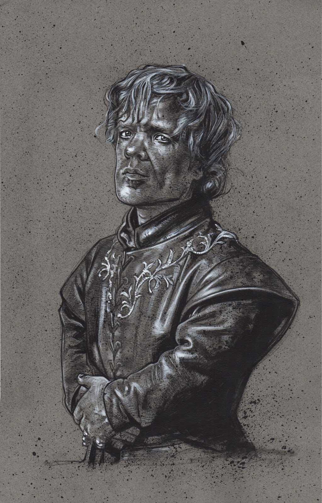 Tyrion Lannister Drawing, Artwork is Copyright © 2014 Jeff Lafferty